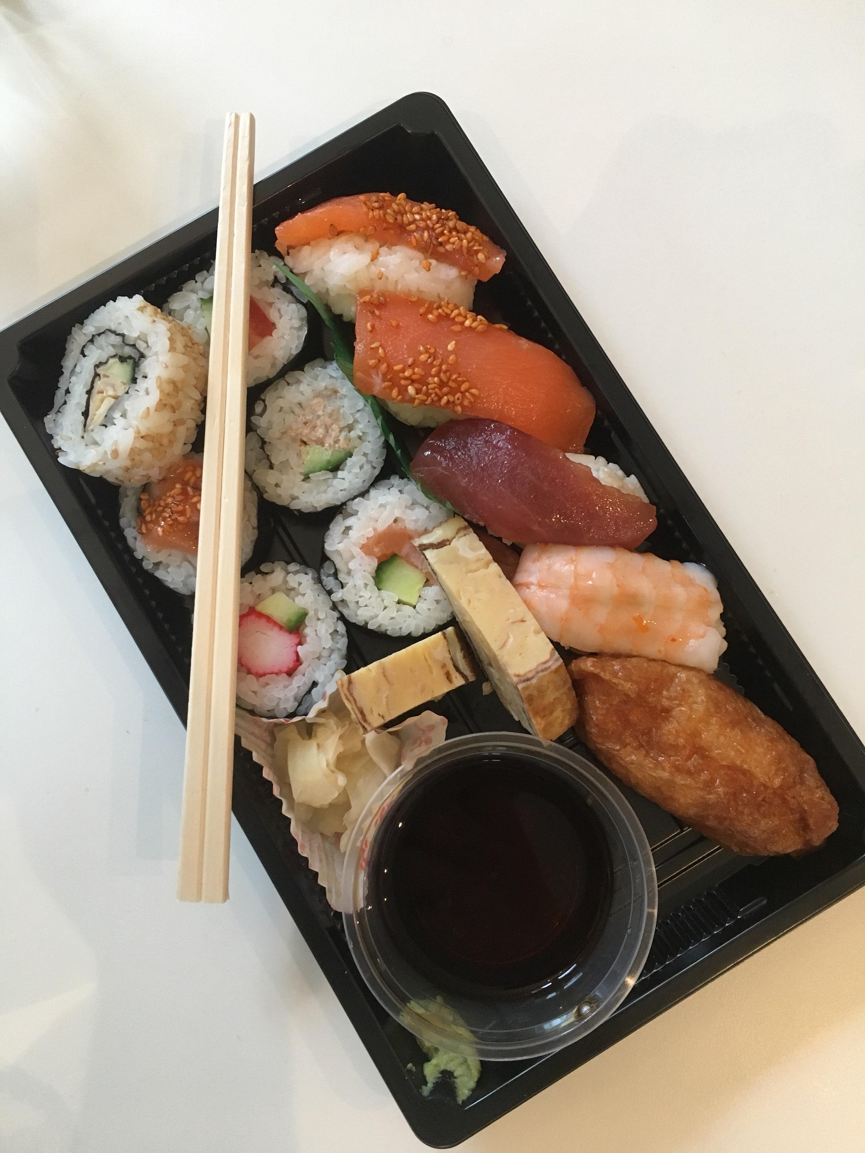 Sushi till lunch!